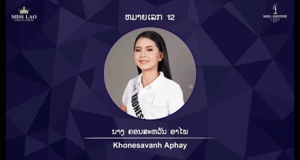 Miss Universe LAOS 2019 21164