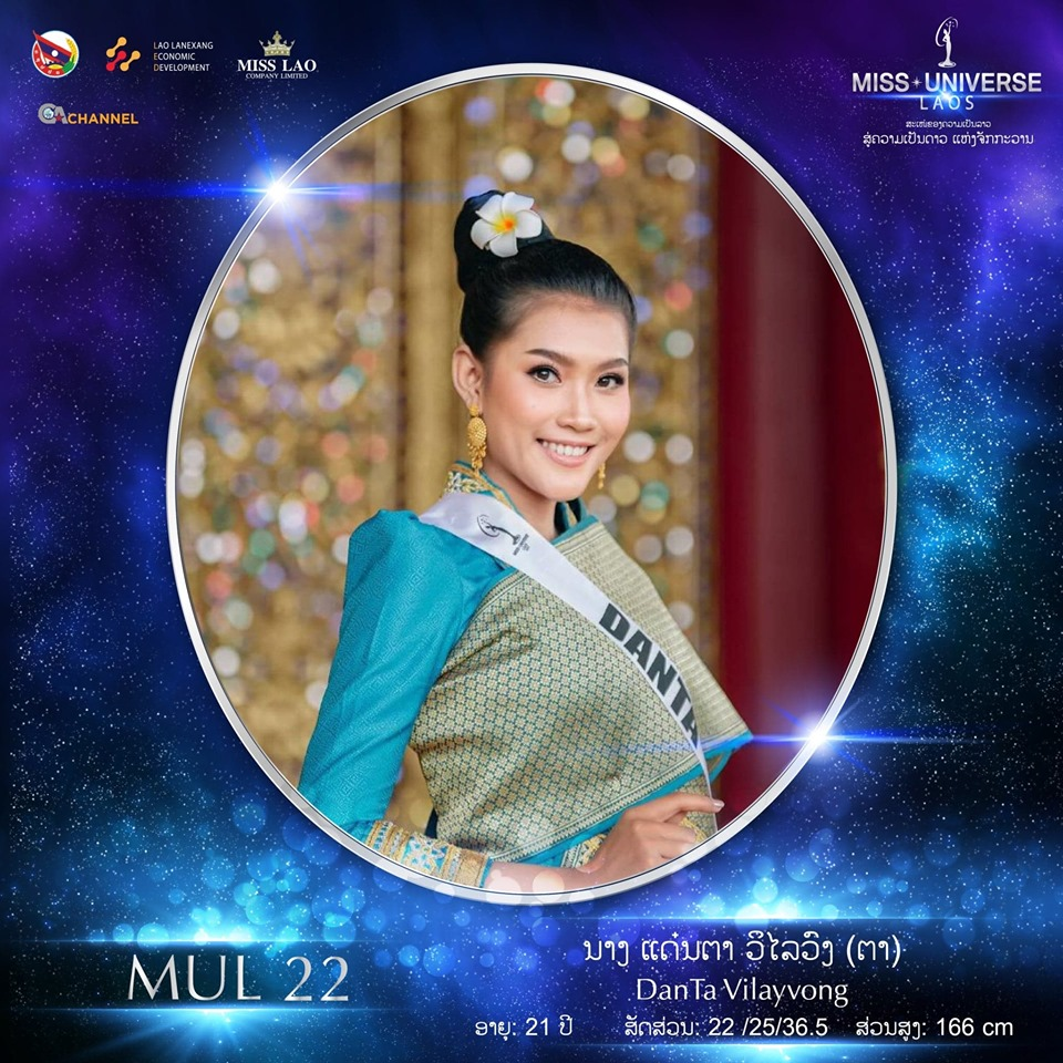 Miss Universe LAOS 2019 - Page 2 22112