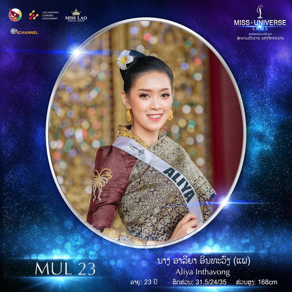 Miss Universe LAOS 2019 - Page 2 23107
