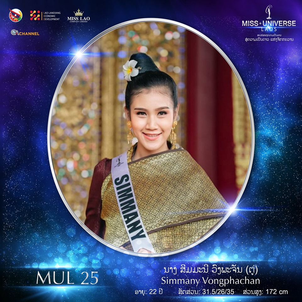 Miss Universe LAOS 2019 - Page 2 25106