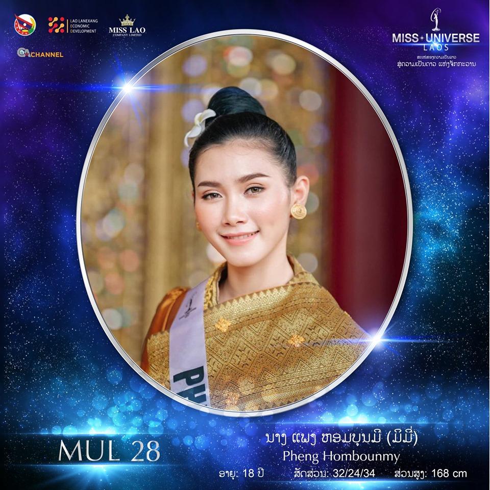 Miss Universe LAOS 2019 - Page 2 28102