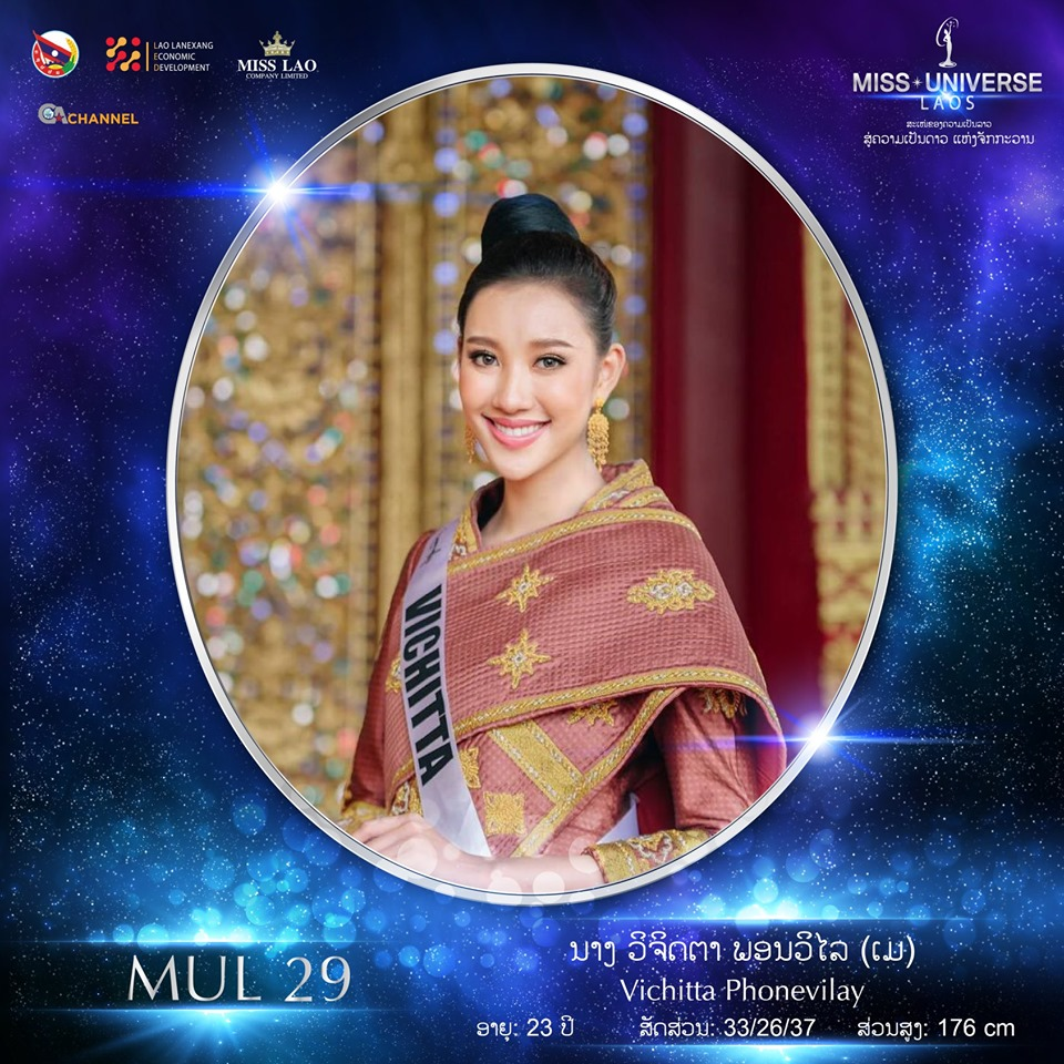 Miss Universe LAOS 2019 - Page 2 29101