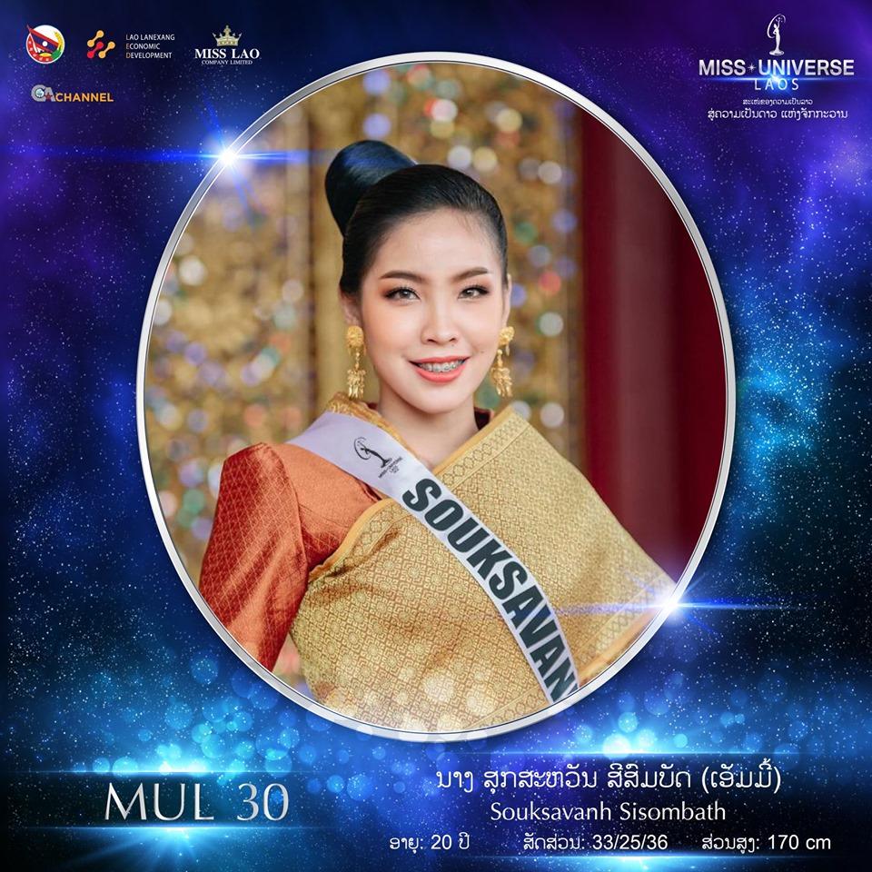 Miss Universe LAOS 2019 - Page 2 3025