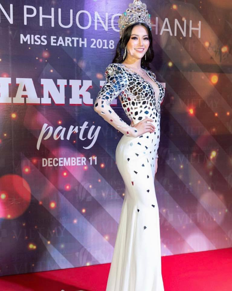 ** Official Thread of Miss Earth 2018-Phuong Khanh Nguyen from VIETNAM** - Page 3 3374