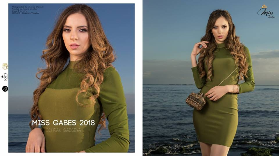 Miss Tunisia 2019 is Sabrine Khalifa Mansour  3409