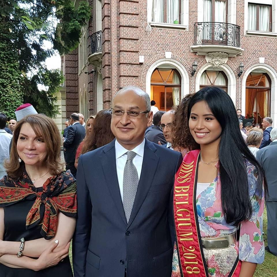 MISS BELGIUM 2018: Angeline Flor Pua 36675510