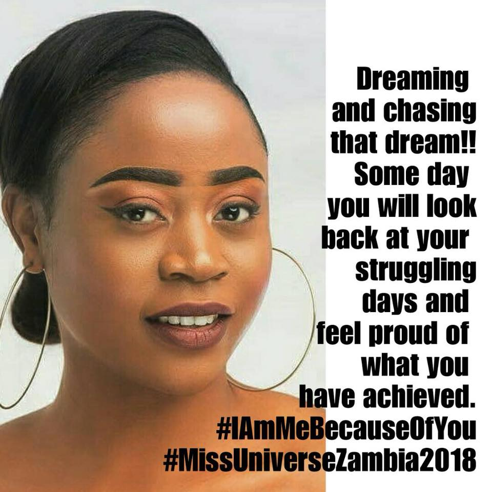 MISS UNIVERSE ZAMBIA 2018 is Melba Shakabozha 36880710