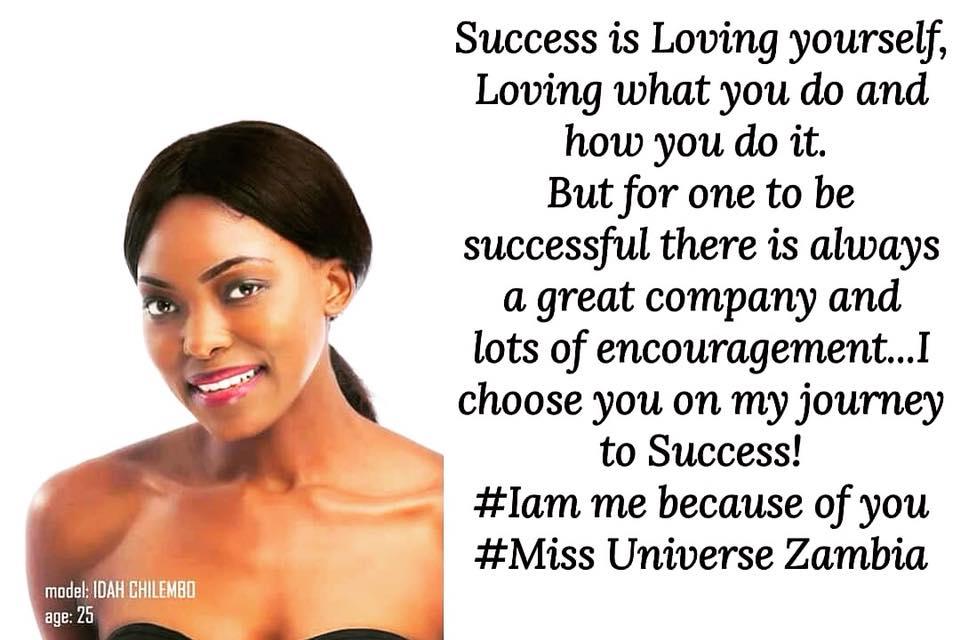 MISS UNIVERSE ZAMBIA 2018 is Melba Shakabozha 36883910