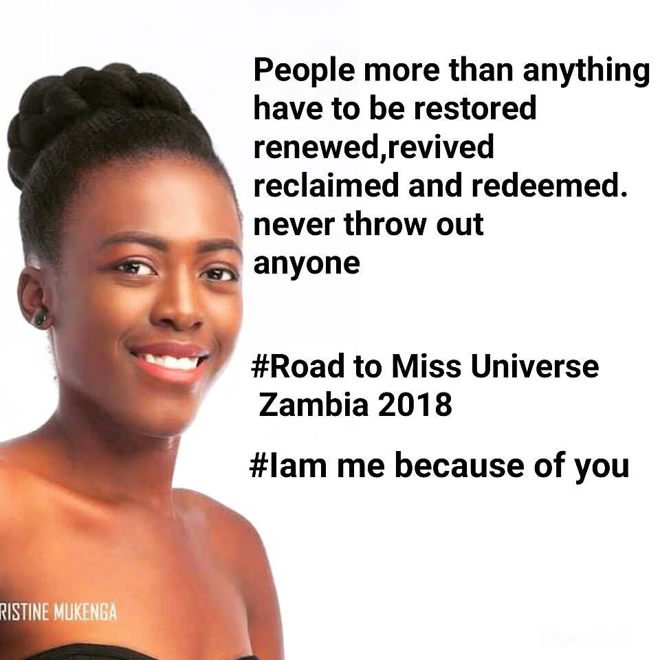 MISS UNIVERSE ZAMBIA 2018 is Melba Shakabozha 36885910