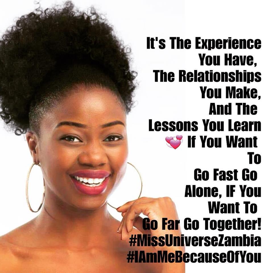 MISS UNIVERSE ZAMBIA 2018 is Melba Shakabozha 36970712