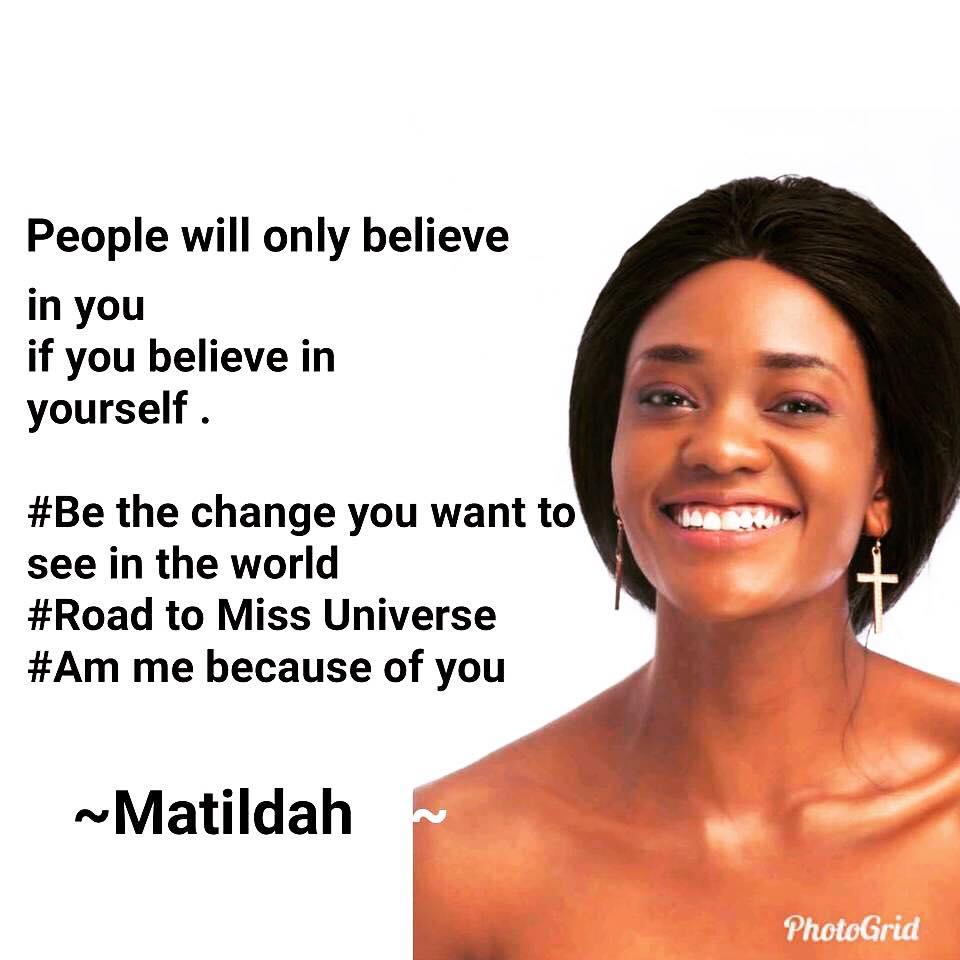 MISS UNIVERSE ZAMBIA 2018 is Melba Shakabozha 36983010