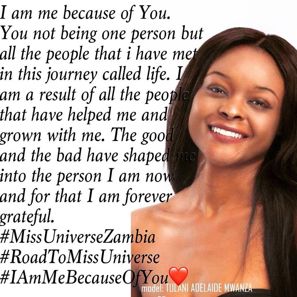 MISS UNIVERSE ZAMBIA 2018 is Melba Shakabozha 36993211