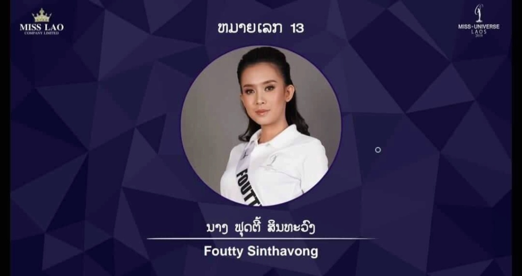 Miss Universe LAOS 2019 3962