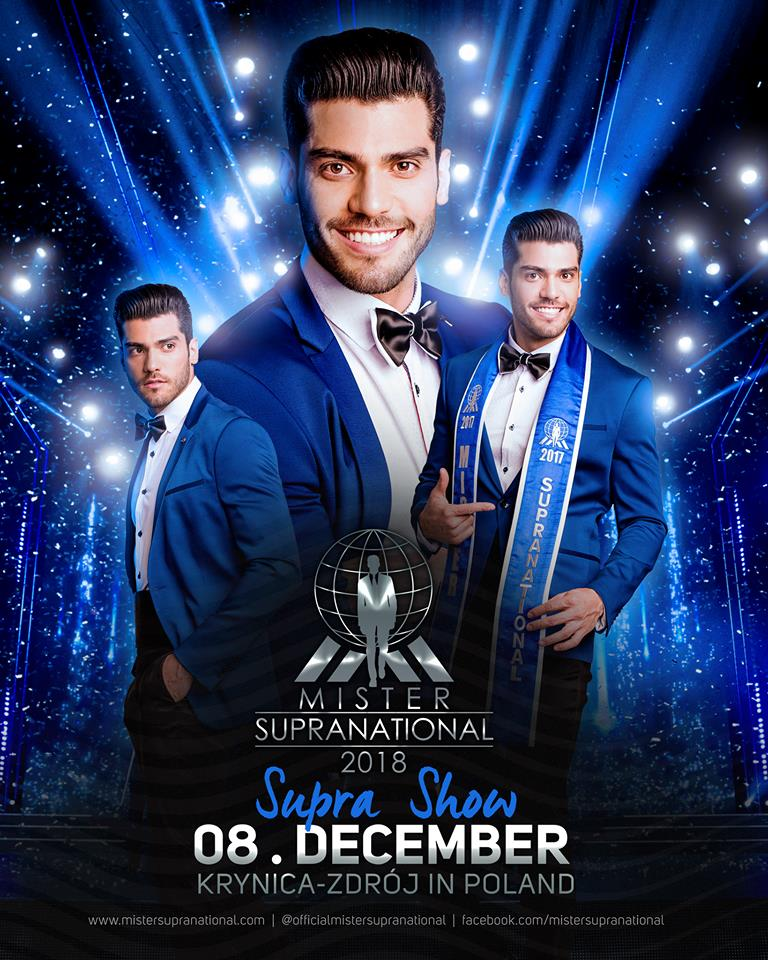 *** Road to MISTER SUPRANATIONAL 2018 is INDIA*** 40227510