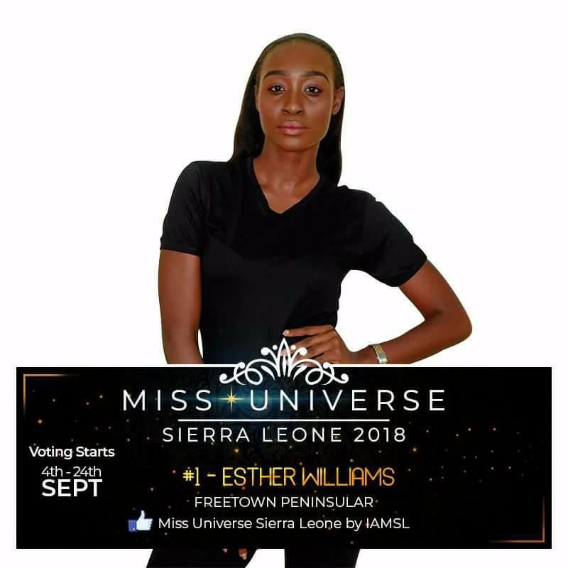 Miss Universe SIERRA LEONE 2018  - November 17th 41402411