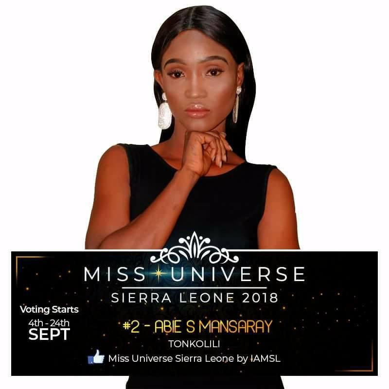 Miss Universe SIERRA LEONE 2018  - November 17th 41421611