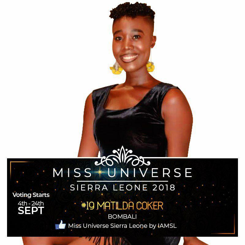 Miss Universe SIERRA LEONE 2018  - November 17th 41435211