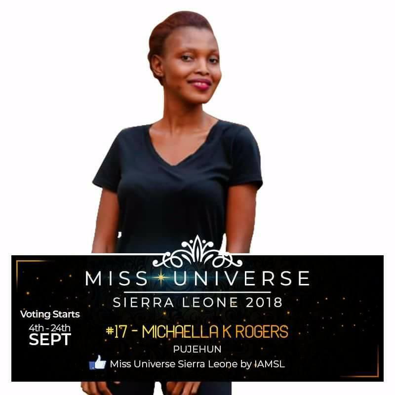 Miss Universe SIERRA LEONE 2018  - November 17th 41443911