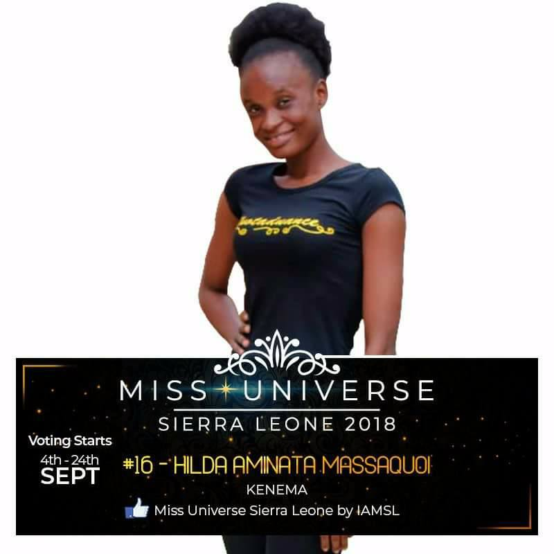 Miss Universe SIERRA LEONE 2018  - November 17th 41446511