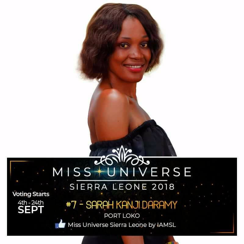 Miss Universe SIERRA LEONE 2018  - November 17th 41458810