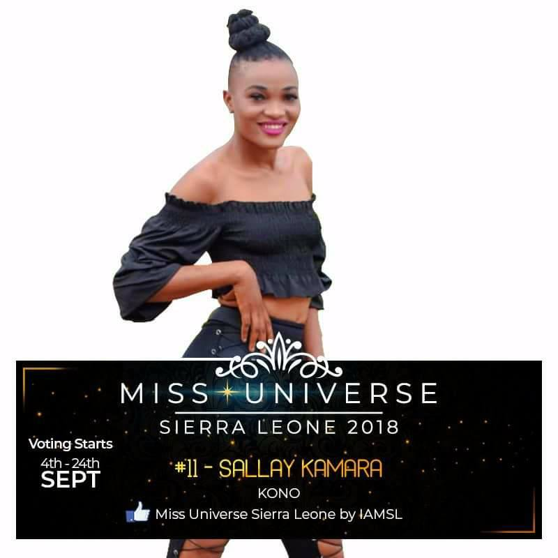 Miss Universe SIERRA LEONE 2018  - November 17th 41479910