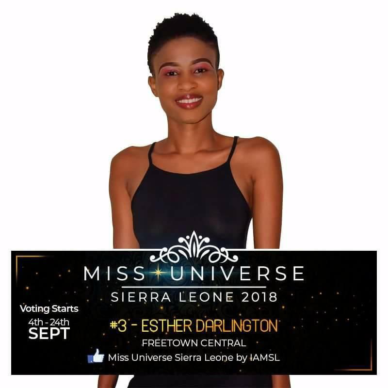 Miss Universe SIERRA LEONE 2018  - November 17th 41491111