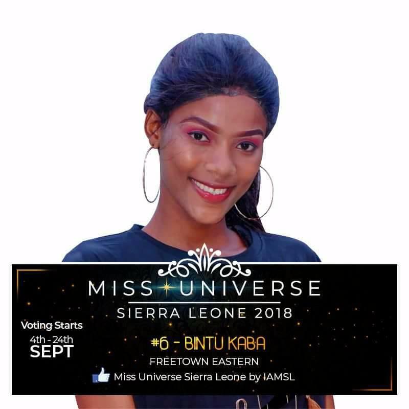 Miss Universe SIERRA LEONE 2018  - November 17th 41499510