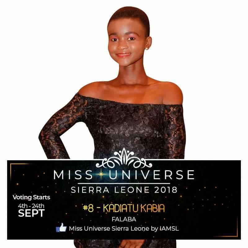 Miss Universe SIERRA LEONE 2018  - November 17th 41632313