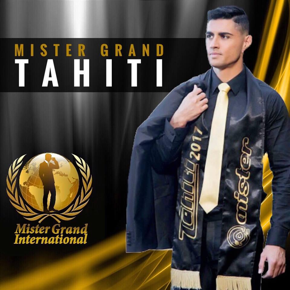 ROAD TO MISTER GRAND INTERNATIONAL 2018 - Tahiti Won! 41849010