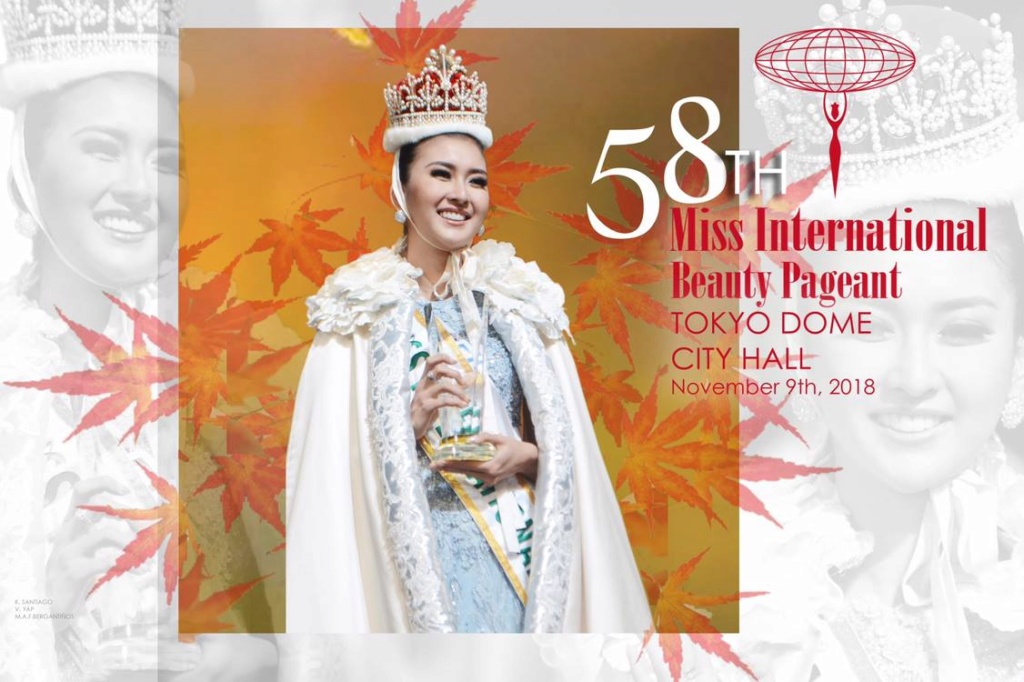 FINAL UPDATES!!! @ MISS INTERNATIONAL 2018 - POST HERE  44051310