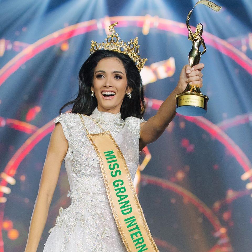 Official Thread of MISS GRAND INTERNATIONAL 2018 - María Clara Sosa - PARAGUAY 44733911