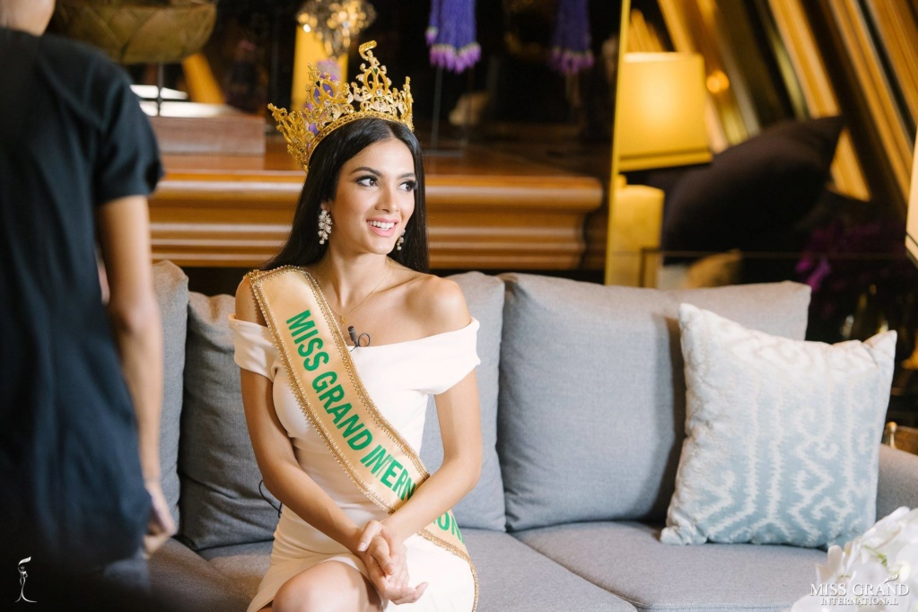 Official Thread of MISS GRAND INTERNATIONAL 2018 - María Clara Sosa - PARAGUAY - Page 2 45043711