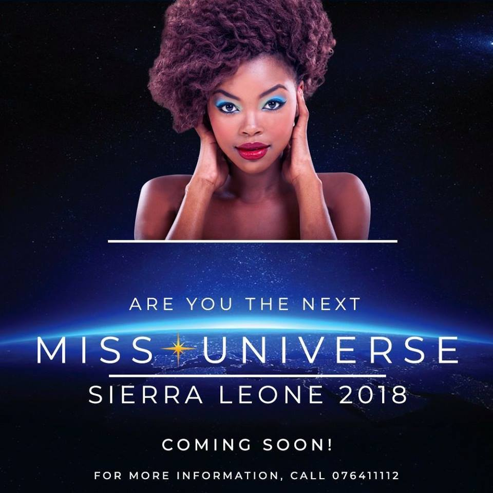 Miss Universe SIERRA LEONE 2018  - November 17th 45063111