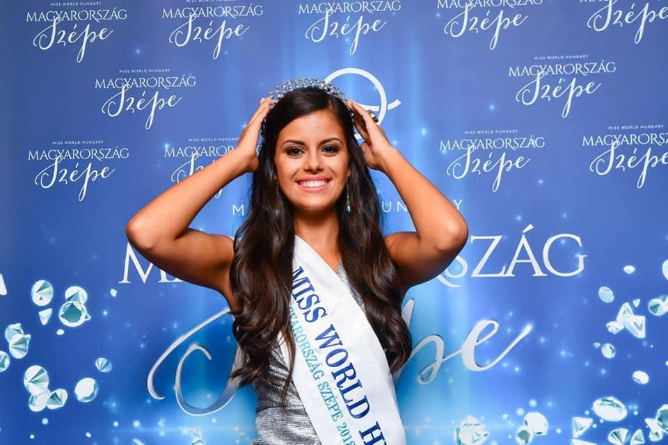 Miss World Hungary 2019 is Krisztina Nagypál  45140211