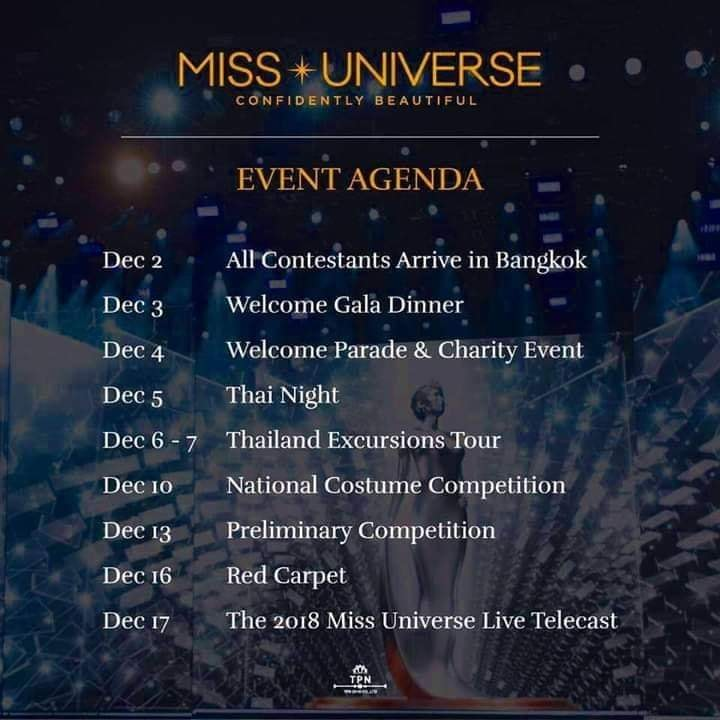 © PAGEANT MANIA © MISS UNIVERSE 2018 - OFFICIAL COVERAGE Finals 46492610