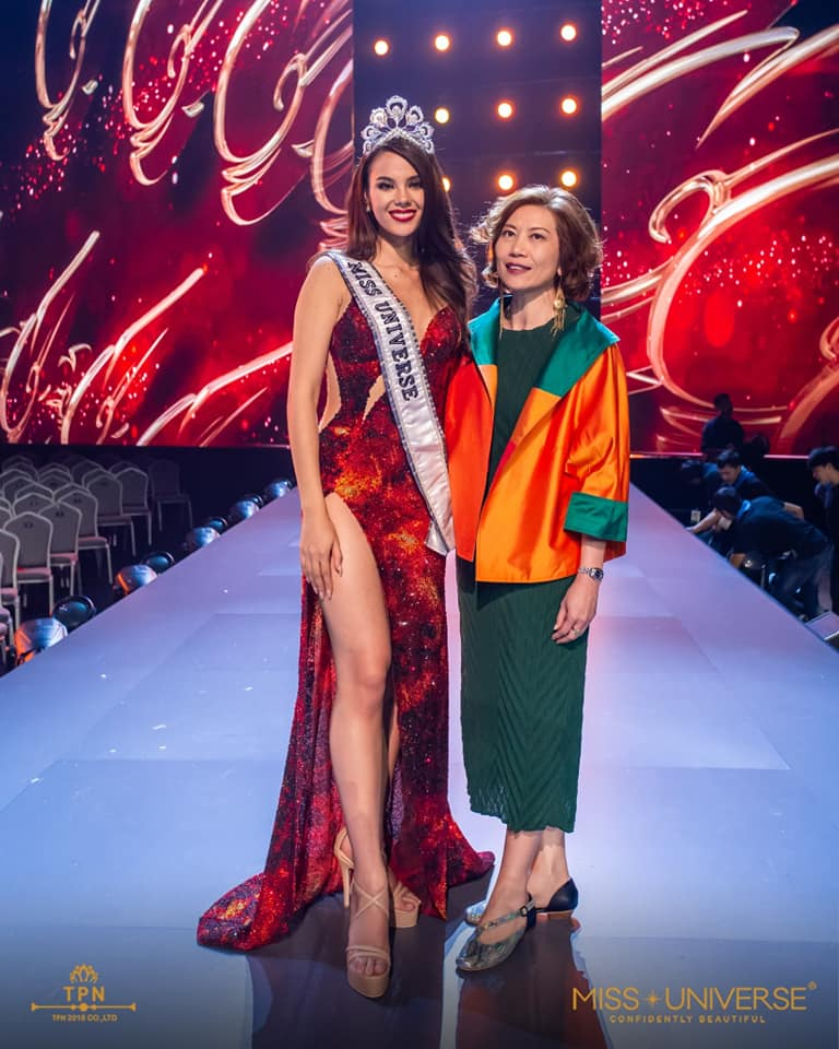 ♔ The Official Thread of MISS UNIVERSE® 2018 Catriona Gray of Philippines ♔ - Page 2 48374310