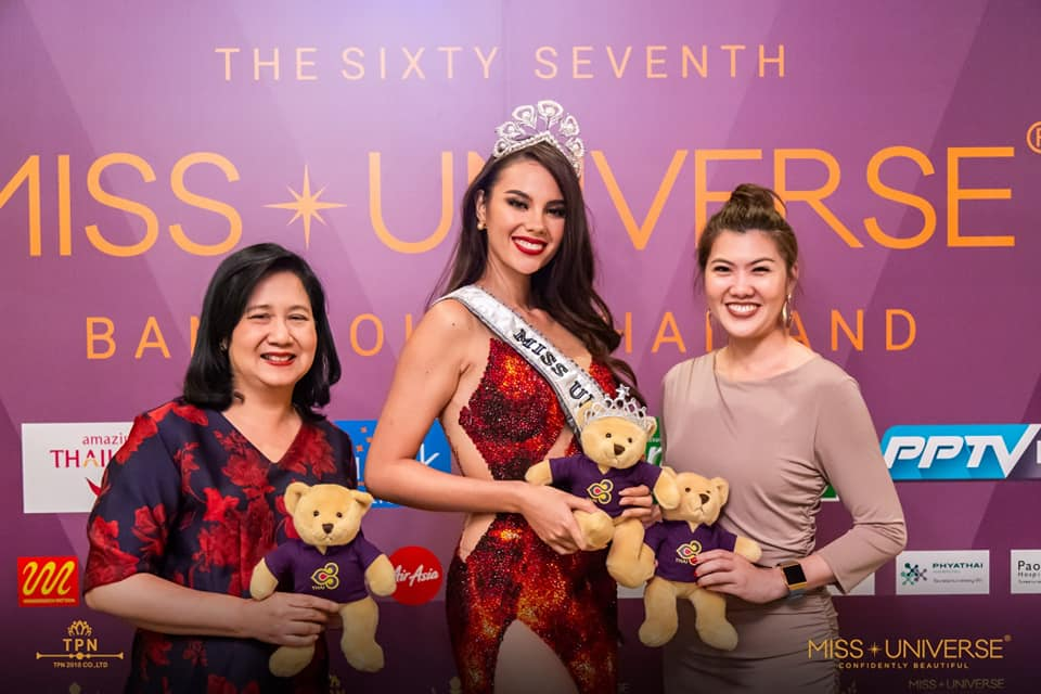 ♔ The Official Thread of MISS UNIVERSE® 2018 Catriona Gray of Philippines ♔ - Page 2 48391210