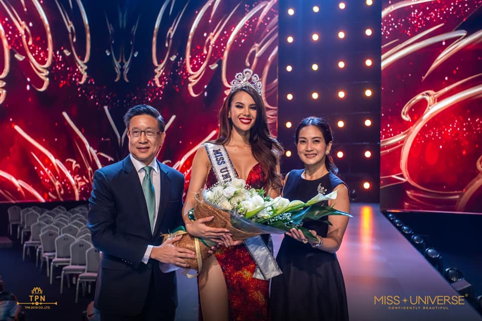 ♔ The Official Thread of MISS UNIVERSE® 2018 Catriona Gray of Philippines ♔ - Page 2 48393710