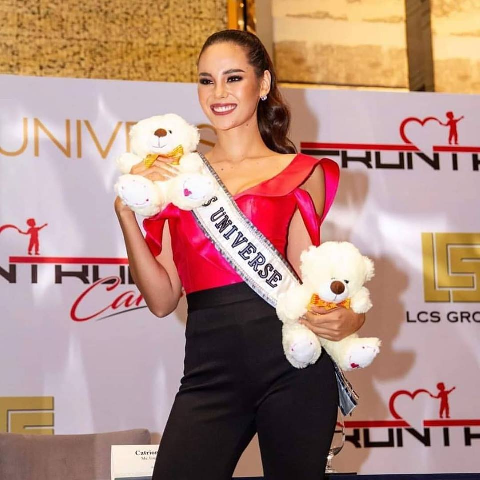 ♔ The Official Thread of MISS UNIVERSE® 2018 Catriona Gray of Philippines ♔ - Page 3 48413310