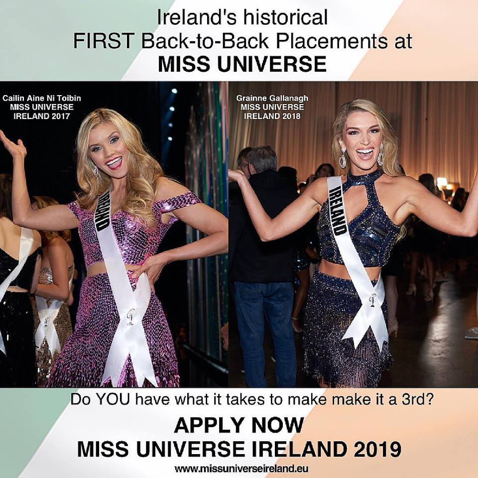 Road to Miss Universe IRELAND 2019 49425910