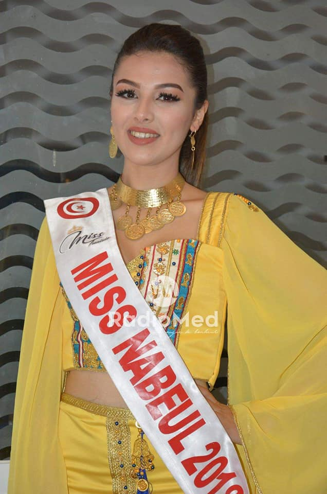 Miss Tunisia 2019 is Sabrine Khalifa Mansour  51430410