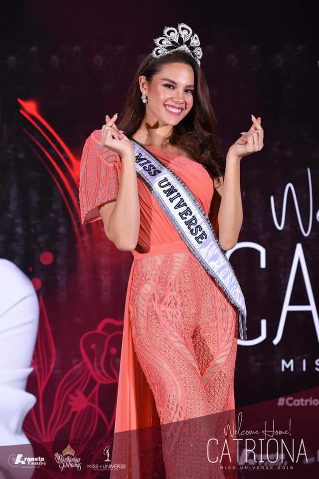 ♔ The Official Thread of MISS UNIVERSE® 2018 Catriona Gray of Philippines ♔ - Page 9 52403810