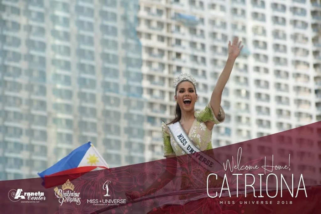 ♔ The Official Thread of MISS UNIVERSE® 2018 Catriona Gray of Philippines ♔ - Page 10 52723210