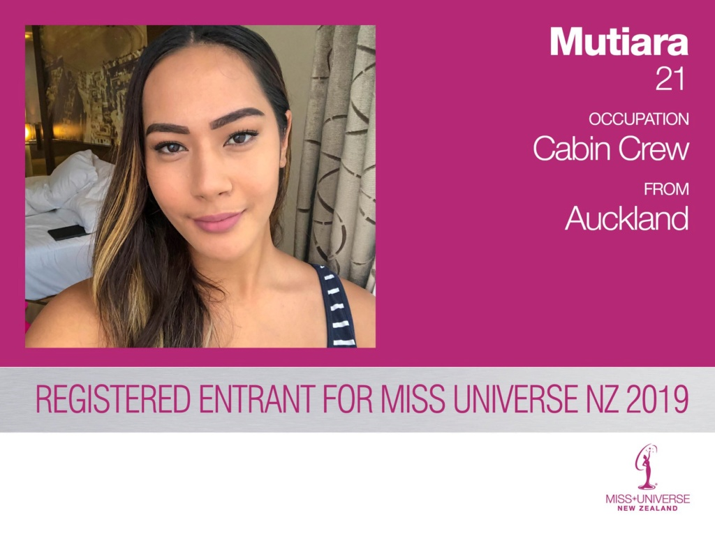 Road to MISS UNIVERSE NEW ZEALAND 2019 52935810