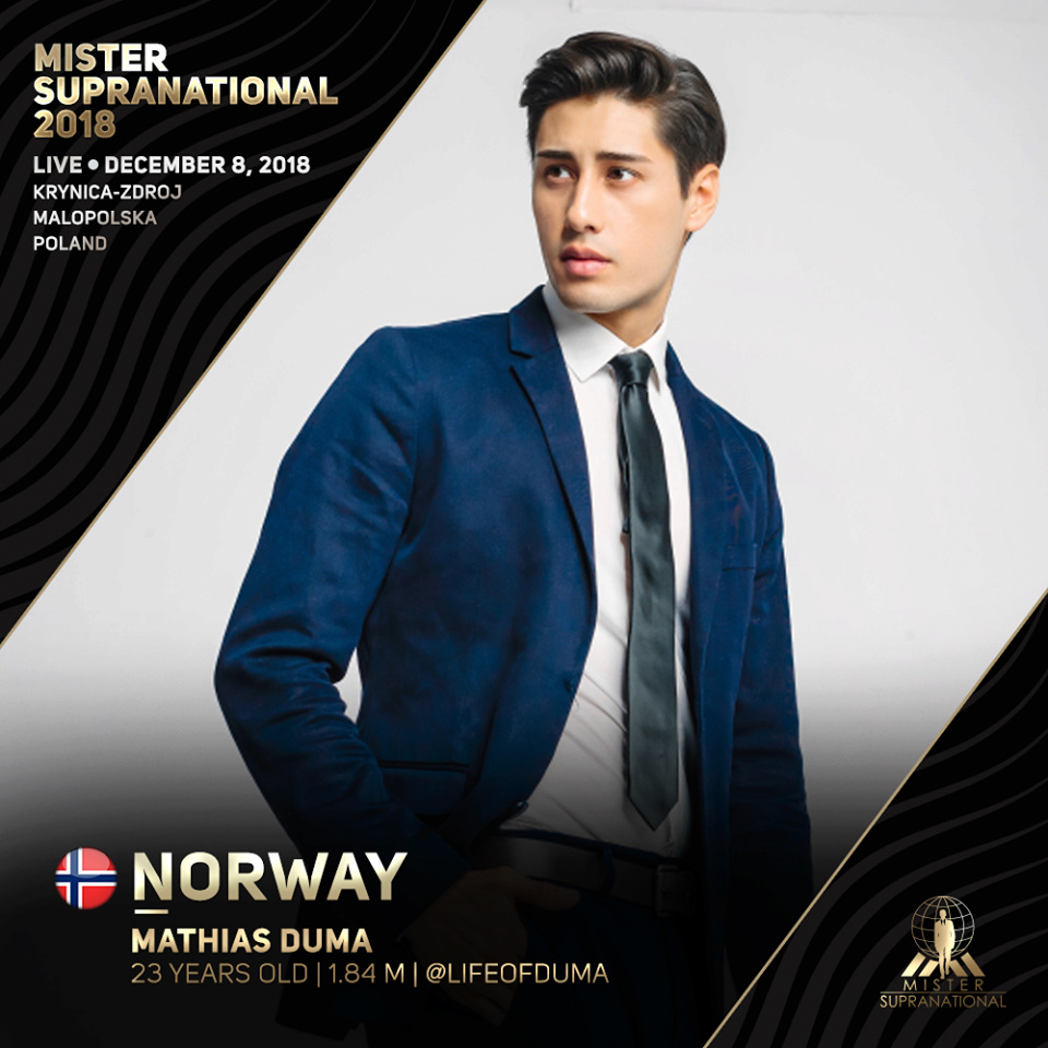 *** Road to MISTER SUPRANATIONAL 2018 is INDIA*** - Page 2 6164