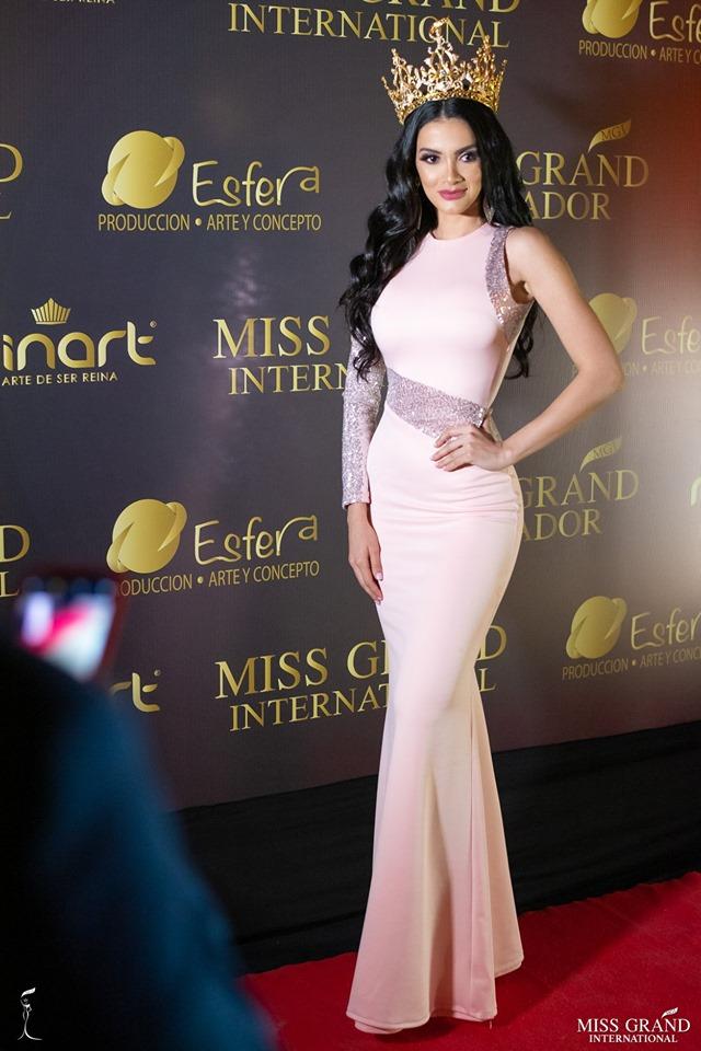 Official Thread of MISS GRAND INTERNATIONAL 2018 - María Clara Sosa - PARAGUAY - Page 4 61834510
