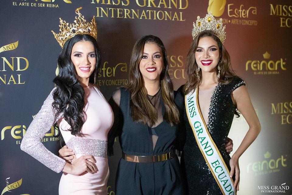 Official Thread of MISS GRAND INTERNATIONAL 2018 - María Clara Sosa - PARAGUAY - Page 4 61925711