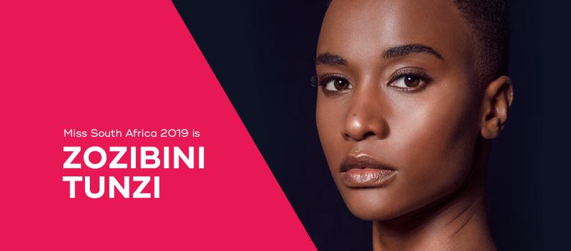 Zozibini Tunzi (SOUTH AFRICA 2019) 67885110