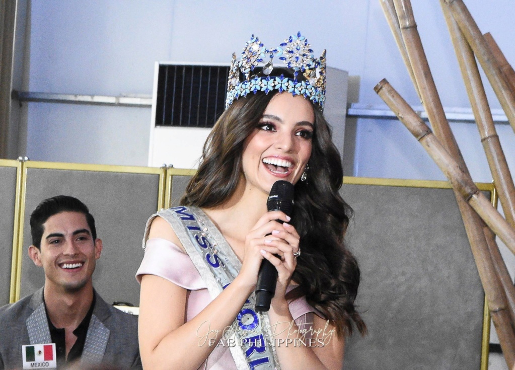 Official Thread of Miss World 2018 ® Vanessa Ponce De León - MEXICO - Page 6 68546010