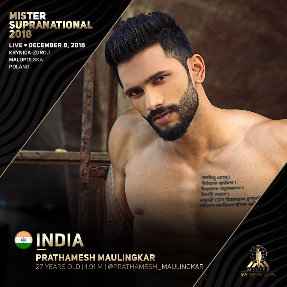 *** Road to MISTER SUPRANATIONAL 2018 is INDIA*** - Page 2 988
